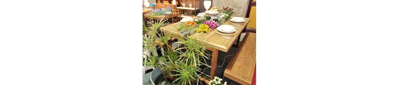 Todo tipo de mesas para el jardín