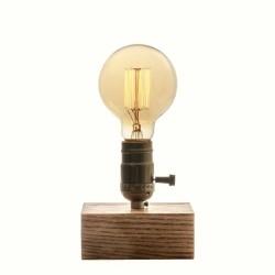 Lámpara Mesilla Roble Natural